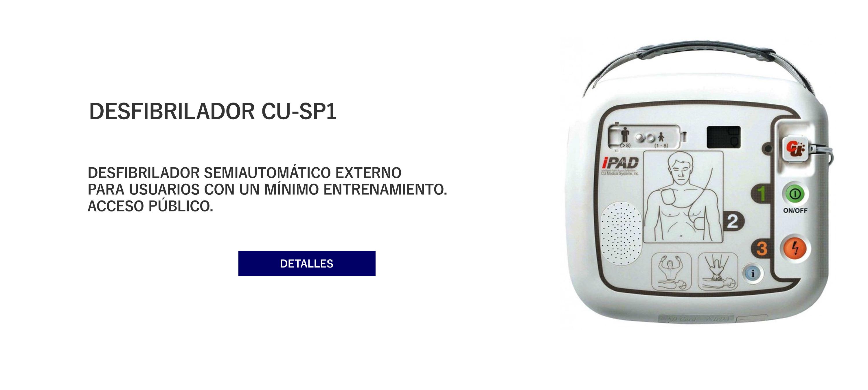 Desfibrilador CU-SP1
